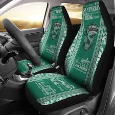 Harry Potter Slytherin Car Seat Covers 2pc Set Cw122 Canawan Official