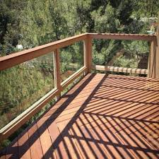 Wooden Balcony Railings Glass Balcony Patio Railing Balcony Railing