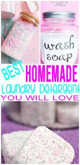 best homemade laundry detergent easy