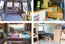 how to convert a van into a camper van