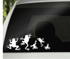 Frog Family Car Window Vinyl Decals Car Family Stickers Frog Etsy Family Car Decals Family Car Stickers Car Decals Vinyl