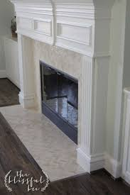 for faux fireplace using dollar tree