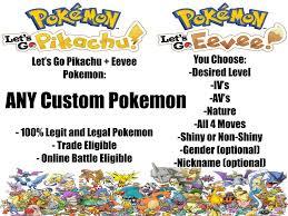 Strategy Guides and Cheats 156595: 6Iv Shiny Pokemon Lets Go ...