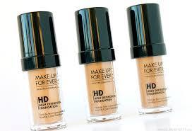 makeup forever ultra hd foundation kit