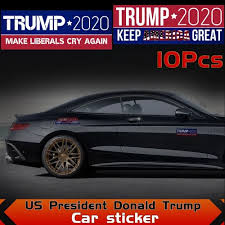 Vova Donald Trump Bumper Sticker 2020 Make Liberals Cry Again