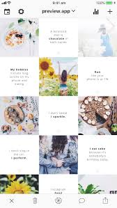 """how to make a """"tiles"""" feed instagram layout quotes"""