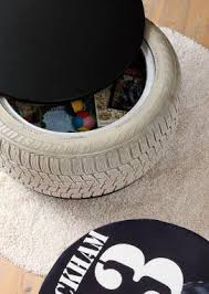 Diy Tire Toys Box Diy Toy Box Cool Diy Projects Kids Room