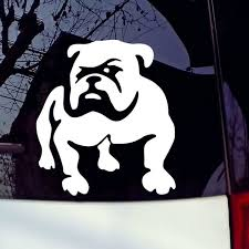Bulldog Car Sticker Lovely Window Decorative Auto Windows Decals Tailgate Decalsticker Vinyl Decals Car Window Decal Wish