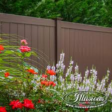 16 Gorgeous Brown Illusions Vinyl Fence Images Illusions Fence