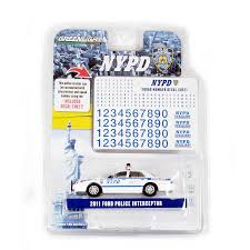 Greenlight 2011 Ford Police Interceptor Nypd With Decal Sheet 1 64 Scale Walmart Com Walmart Com