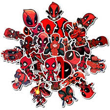 Amazon Com Marvel Deadpool Stickers For Laptop Vinyl Waterproof Cool Graffiti Decals For Car Phone Pad Hydroflask Water Bottles Ps4 Controller Aesthetic Superhero Sticker Pack For Kids Toddlers Boy Teens 35pcs Computers