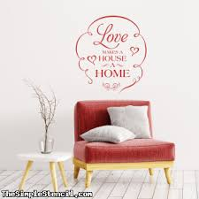House Warming Party Ideas Personalized Vinyl Wall Lettering Decals Stickers