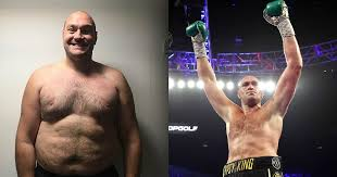 boxer tyson fury shares photos of his