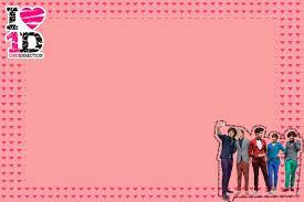 One Direction Invitaciones Para Imprimir Gratis Ideas Y