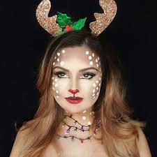 how to do reindeer makeup saubhaya makeup