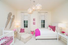Terrific Wing Bed Upholstered Nursery Transitional With Kid S Room Angel Wings Girls Nursery Shared Bedroom Worlds Away Design Pretty Pendant Lights Chandleier