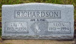 Twila Hitchcock Richardson (1918-1991) - Find A Grave Memorial