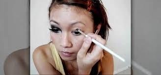 eye makeup from mortal kombat
