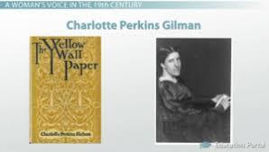 charlotte perkins gilman s the yellow