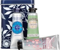l occitane hand cream trio gift set