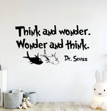 Zoomie Kids Think And Wonder Wall Decal Wayfair