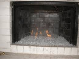 fireplace glass fire glass fire pit