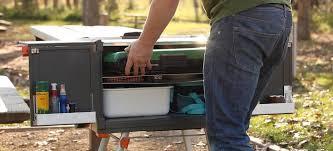 camper trailer storage ideas aussie