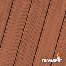 Olympic Maximum 5 Gal Rosewood Semi Transparent Exterior Stain And Sealant In One Low Voc Oly728 05 The Home Depot