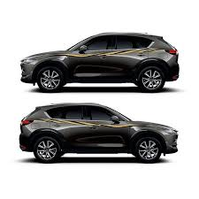 Car Body Door Side Decor Sticker For Mazda Cx 5 Vinyl Decal Auto Waist Line Stripes Car Stickers Aliexpress