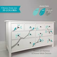 We Love A Great Ikea Hack Or Dresser Upgrade Select The Tree Branch Decals That Match Your Ikea Dresser Or If Youre Ikea Dresser Makeover Ikea Hack Ikea Malm
