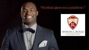"""Secret Life of Scientists and Engineers: Myron Rolle: """"Football gave me a  platform."""""""