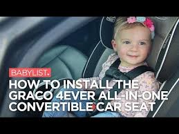 how to install the graco 4ever all in