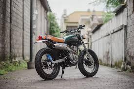 customs yamaha scorpio 225 motorbike