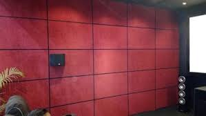 home theater wall fabric panels