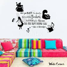 Alice In Wonderland Cheshire Cat Storybook Fairy Tale Laptop Car Sticker 75