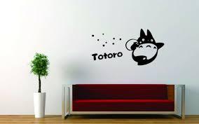 Wall Sticker Decal Vinyl Decor Miyazaki Totoro Japan Anime Star Cartoon For Sale Online