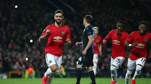 Manchester United 5-0 Club Brugge (6-1 agg): Fernandes and Ighalo ...