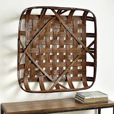 basket wall décor
