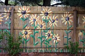 Image Result For Painting Mural Wooden Fence Fence Art Garden Fence Art Fence Decor