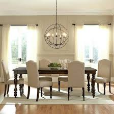 modern dining table light fixture room