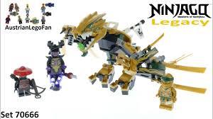 Lego Ninjago Legacy 70666 The Golden Dragon - Lego Ninjago 70666 ...