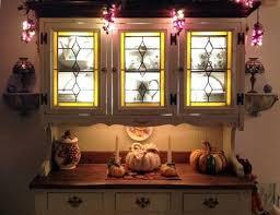 kitchen cabinet doors decorative glass