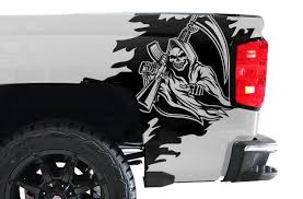 Product Chevy Silverado 2014 2017 Custom Vinyl Decal Wrap Kit Reaper