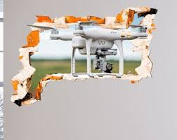 Drone Wall Decal Etsy