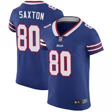Wes Saxton Men's Buffalo Bills Nike Team Color Vapor Untouchable Jersey -  Elite Royal Blue