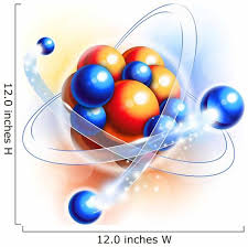 Molecule Atoms And Particles Wall Decal Wallmonkeys Com