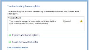 Fix DNS Server not Responding Error on Windows 10