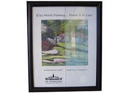 picture frame glass non reflective uv
