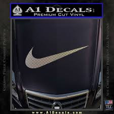 Nike Swoosh 4 Pack Decal Sticker A1 Decals