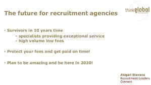 Abigail Stevens, Managing Director & Founder, Think Global Recruitmen…
